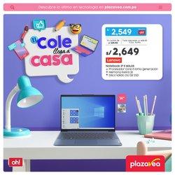 Ofertas de regreso a clases en el catálogo de Plaza Vea ( 5 días más)