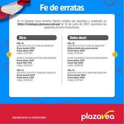 Ofertas de Plaza Vea en el catálogo de Plaza Vea ( 6 días más)