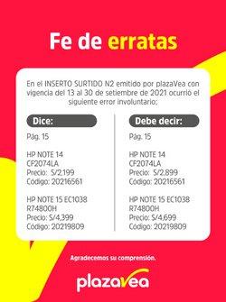 Ofertas de Plaza Vea en el catálogo de Plaza Vea ( 3 días más)