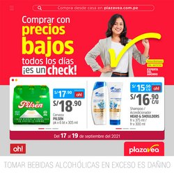Ofertas de Supermercados en el catálogo de Plaza Vea ( Vence hoy)