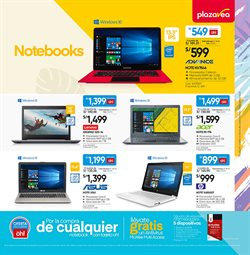 Ofertas de Notebook  en el folleto de Plaza Vea en Lima