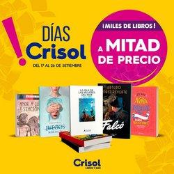 Ofertas de Viajes y ocio en el catálogo de Crisol ( 3 días más)
