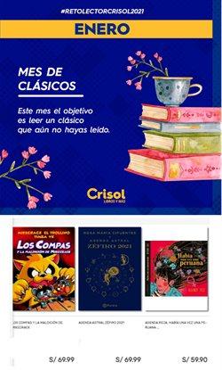 Ofertas de Viajes y ocio en el catálogo de Crisol en Lima ( 14 días más )