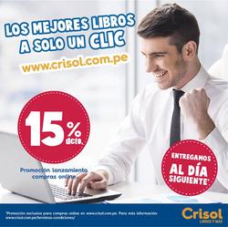 Ofertas de Crisol  en el folleto de Lima