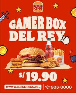 Catálogo Burger King ( 7 días más)