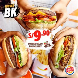 Ofertas de Restaurantes  en el folleto de Burger King en Piura