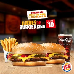 Ofertas de Refresco de cola en Burger King