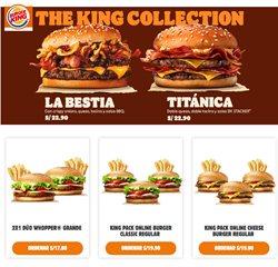 Ofertas de Restaurantes en el catálogo de Burger King ( 14 días más )