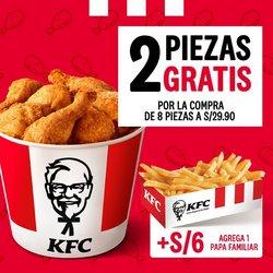 Ofertas de Restaurantes en el catálogo de KFC ( 13 días más)