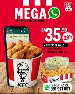 Catálogo KFC ( 3 días más)