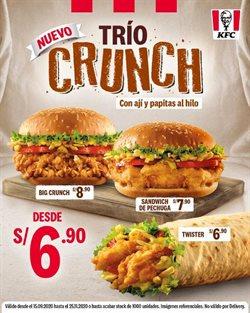 Catálogo KFC en Trujillo ( Caduca mañana )