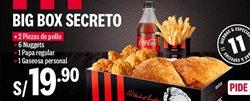 Ofertas de Coca-Cola en KFC