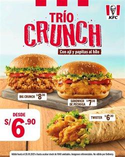 Ofertas de Restaurantes en el catálogo de KFC ( 3 días más )