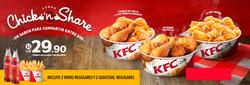 Ofertas de KFC  en el folleto de Lima