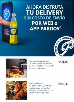 Ofertas de Restaurantes en el catálogo de Pardo's Chicken ( 3 días más)