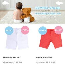 Ofertas de Baby Modas en el catálogo de Baby Modas ( 10 días más)
