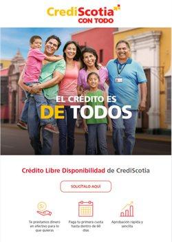 Ofertas de Bancos y seguros en el catálogo de CrediScotia ( 6 días más )