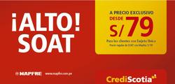 Ofertas de CrediScotia  en el folleto de Lima