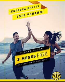 Ofertas de Gold's Gym  en el folleto de Lima