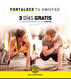 Ofertas de Gold's Gym  en el folleto de Lima