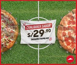 Ofertas de Pizza Hut  en el folleto de Lima