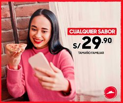 Ofertas de Restaurantes  en el folleto de Pizza Hut en Lima