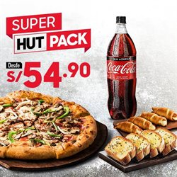 Ofertas de Pizza Hut  en el folleto de Arequipa
