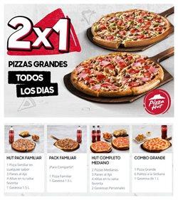 Ofertas de Restaurantes en el catálogo de Pizza Hut en Huacho ( 4 días más )