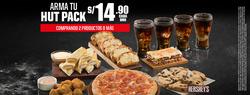 Ofertas de Pizza Hut  en el folleto de Lima