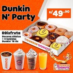 Ofertas de Restaurantes en el catálogo de Dunkin Donuts ( 4 días más)