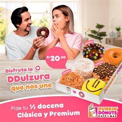Ofertas de Restaurantes en el catálogo de Dunkin Donuts en Huánuco ( 4 días más )
