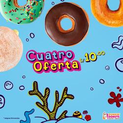 Ofertas de Dunkin Donuts  en el folleto de Lima