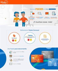 Ofertas de Bancos y seguros en el catálogo de Banco Cencosud ( Más de un mes)