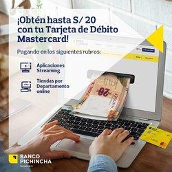 Ofertas de Bancos y seguros en el catálogo de Banco Pichincha ( 3 días más)