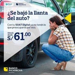 Ofertas de Bancos y seguros en el catálogo de Banco Pichincha ( 4 días más)