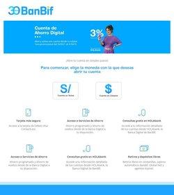 Ofertas de Bancos y seguros en el catálogo de BanBif ( 6 días más)