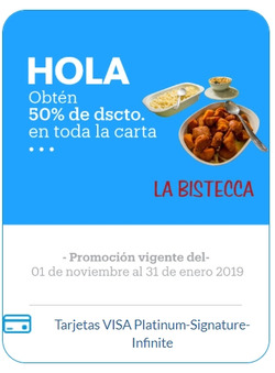 Ofertas de BanBif  en el folleto de Lima