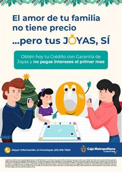Ofertas de Bancos y seguros en el catálogo de Caja Metropolitana ( Más de un mes )