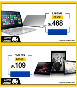 Ofertas de Laptop  en el folleto de Login Store en Lima