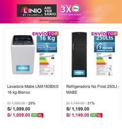 Ofertas de Tiendas por departamento en el catálogo de Linio ( Vence hoy)