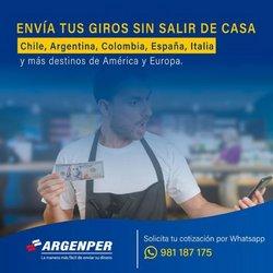Ofertas de Bancos y seguros en el catálogo de Argenper ( 11 días más)