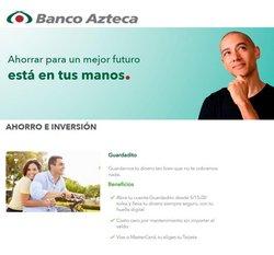 Ofertas de Bancos y seguros en el catálogo de Banco Azteca ( Más de un mes)