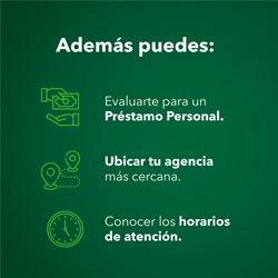Ofertas de Bancos y seguros en el catálogo de Banco Azteca ( 6 días más )