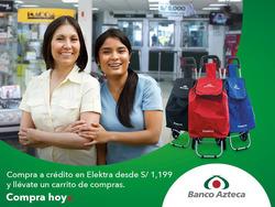 Ofertas de Banco Azteca  en el folleto de Lima
