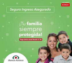 Cupón Banco Azteca en Huacho ( 4 días más )