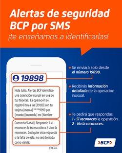 Ofertas de Té en Banco de Crédito del Perú