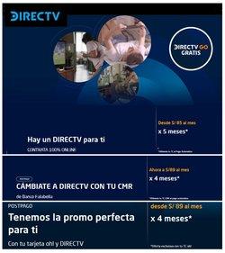Ofertas de Direct TV en el catálogo de Direct TV ( 9 días más)