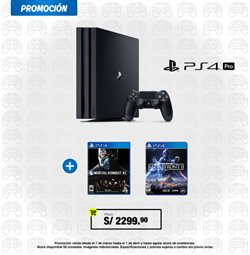 Ofertas de PlayStation  en el folleto de Phantom en Lima