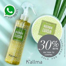 Ofertas de K'Allma en el catálogo de K'Allma ( 3 días más)