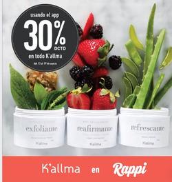 Ofertas de Perfumerías y belleza  en el folleto de K'Allma en Lima